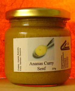 Ananas Curry Senf