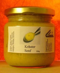 Kräuter Senf